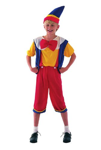 Fancy Dress Costume pour enfant Boy Disney-Pinocchio Pantin 4–6 ans