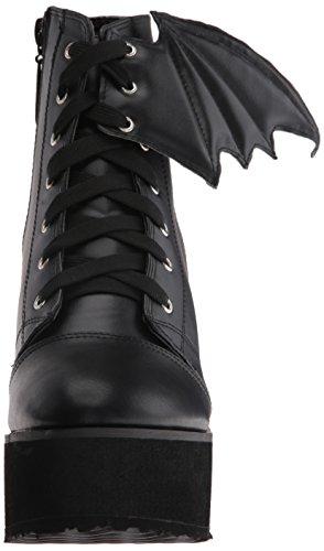 Iron Fist Bat Wing Boot, Bottes Classiques femme Noir - Noir