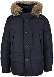Parajumpers Men's PMJCKHF02P17560 Blue Polyester Coat