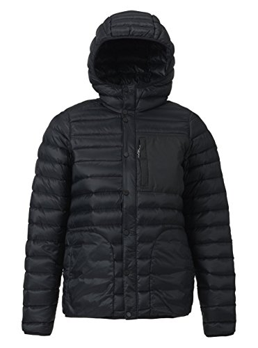 Burton Evergreen Down Hooded Isolator Jacke XL true black -