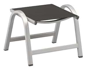 kettler hocker basic aluminiumgestell silber. Black Bedroom Furniture Sets. Home Design Ideas