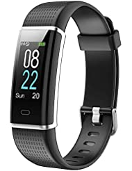 Willful Orologio Fitness Tracker Uomo Donna Smartwatch Cardiofrequenzimetro da Polso Impermeabile IP68 Smart Watch Contapassi Calorie Sportivo Smartband per Android iOS Xiaomi Huawei Samsung iPhone