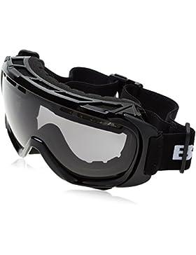 Black Crevice Máscara de Esquí  Negro / Plateado