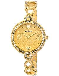 Austere Espirit Gold Dial Women's Watch (WESPR-060606