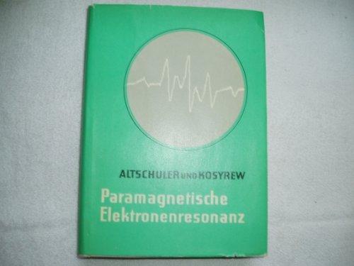 Paramagnetische Elektronenresonanz