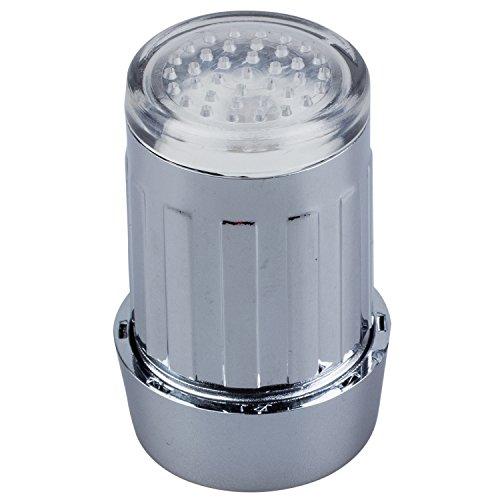 SODIAL(WZ.) 3 Farben Wasser Leuchtend LED Wasserhahn Licht Lampe Temperaturfuehler - 3