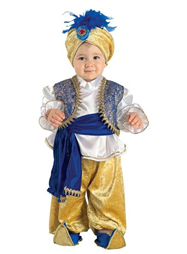 Baby Kostüm arabischer Prinz, Kostüm Kleinkind Sultan, Größe:74 (Junge Prinz Kostüm Ideen)