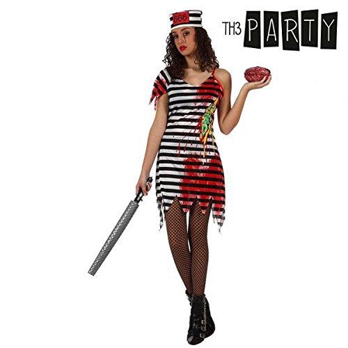 Generique - Zombie Gefängnisinsassen-Kostüm für Damen