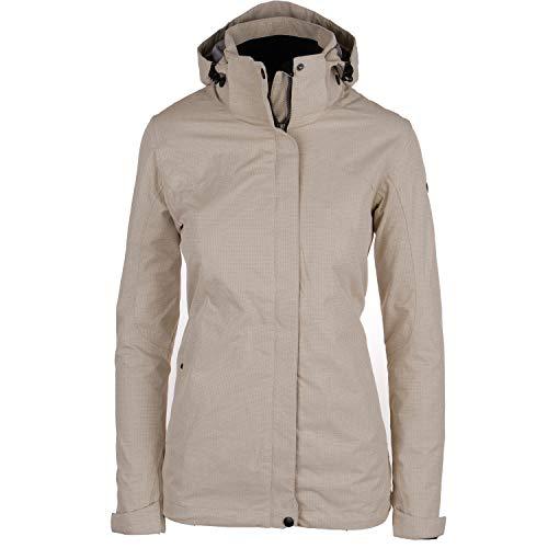 Killtec Beide Jacken fest ineinander gezippt oder einzeln tragbar