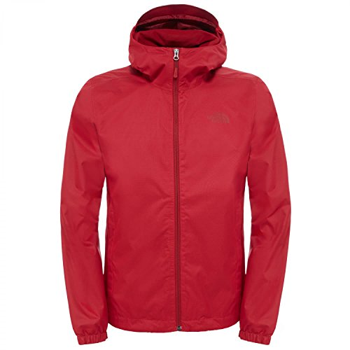 The North Face Herren Regenjacke Quest TNF Red Heather