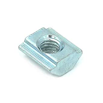 3D INNOVATIONS T Nut M5 Threaded Pre Assembly T-Nut for 20x20 Aluminum Extrusions/Aluminum Profile (Qty: 25 pcs) (M5 | 25pcs), Pre Assembly)