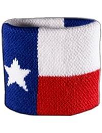 Digni® Poignet éponge avec drapeau USA US Texas