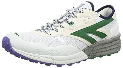 Hi-Tec Blast lite - Zapatos Hombre, Blanco (White 011), 44 EU
