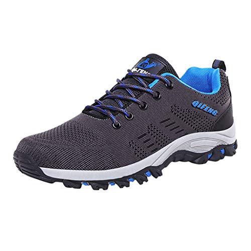 Herren Arbeitsschuhe Herren S3 Leicht Comfort Sicherheitsschuhe rutschfest Sportlich Jogger Sneaker für Frauen Männer