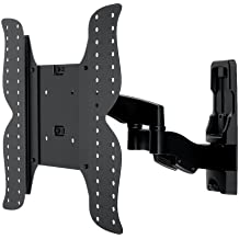 "PureMountsPM-Shadow-4 - Soporte de pared para televisores de pantalla plana de hasta 132cm/ 52"" (inclinable, giratorio, plano, ultrafino, VESA 400)"