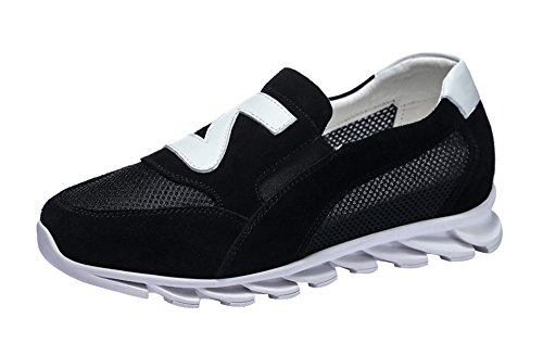 fq-real-balck-friday-womens-lightweight-athletic-slip-on-mesh-suede-fashion-sneakers-45-ukblack