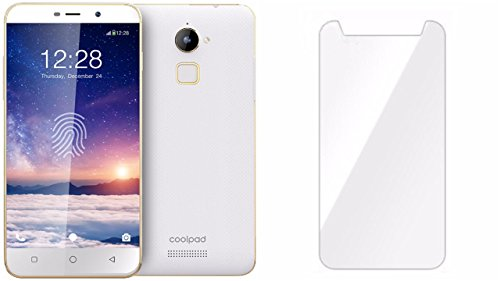 M.G.R.J Coolpad Note 3 Lite - Tempered Glass Screen Protector with 9H Hardness, Premium Crystal Clarity, Scratch-Resistant