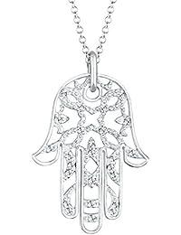 Elli Premium Damen Halskette 925 Sterling Silber Swarovski Kristall
