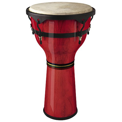 STAGG DWM 10 R DJEMBE EN BOIS 10 RED