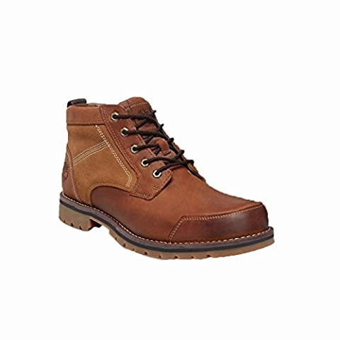 Timberland Larchmont Chukka Medium Brown Full-Grain and Suede CA13HD, Boots