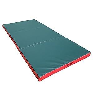 NiroSport Turnmatte 210 x 100 x 8 cm Gymnastikmatte Fitnessmatte Sportmatte...