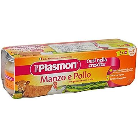 Plasmon Omogeneizzato di Carne di Manzo e
