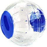 Hamsterball Mäuseball Joggingball,Kiao Small Transparent Ball Spielzeug für Hamster Runner Aktivität Spielzeug
