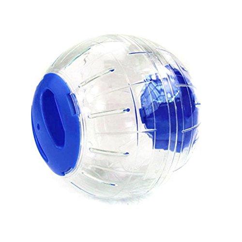 XIYAO Hamster Running Ball Hamster Gymnastikball Kristall Jogging Ratte Spielen Kunststoff Spielzeug - Übung Hälfte Ball