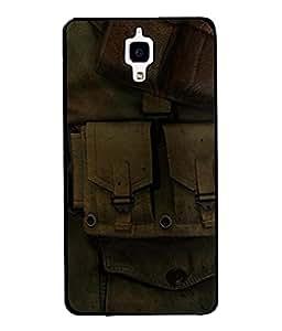 Fuson Designer Back Case Cover for Xiaomi Redmi Mi 4 :: Redmi Mi 4 (Jawan Khaki Protection India Proud Youngster )