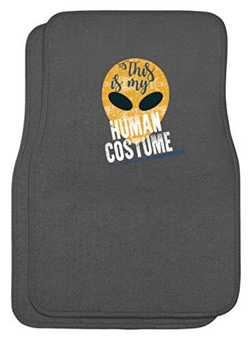 Kostüm Menschliche - SPIRITSHIRTSHOP This Is My Human Costume - Das Ist Mein Menschkostüm, Mensch-Kostüm, Menschliches Kostüm - Automatten -Einheitsgröße-Mausgrau