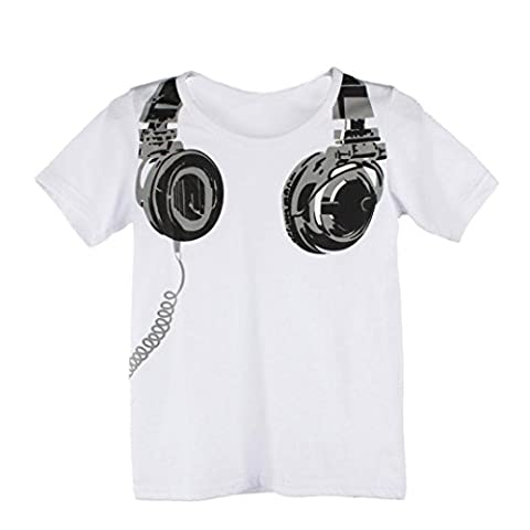 For 1-6 years old boys,Clode® Summer Children Boy Kids Camera Short Sleeve Tops T Shirt Tees Clothes (90cm(1-2Y),