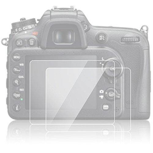 protecteur-decran-pour-nikon-d7100-d7200-d800-d600-d610-afunta-anti-glare-9h-lcd-en-verre-trempe-2-p