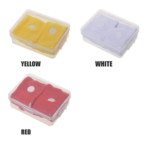BLUEUK 1 STÜCK Anticorona Wiederverwendbare 5 Farbe Krankheit Handgelenk Anti-emetic Armbänder unisex Verhindern Übelkeit auto Reise Handgelenk Bands (red)
