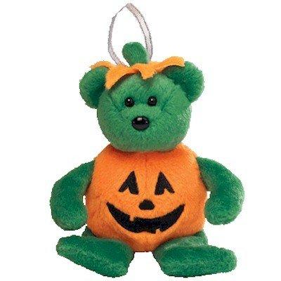 Ty Halloweenie Beanie Tricky - Bear