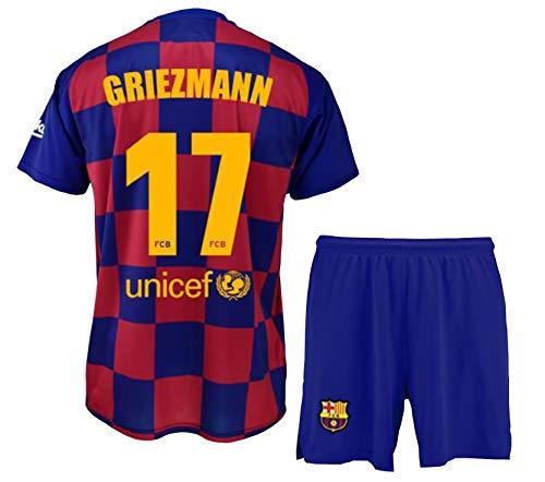 Conjunto Camiseta pantalón 1ª equipación FC. Barcelona