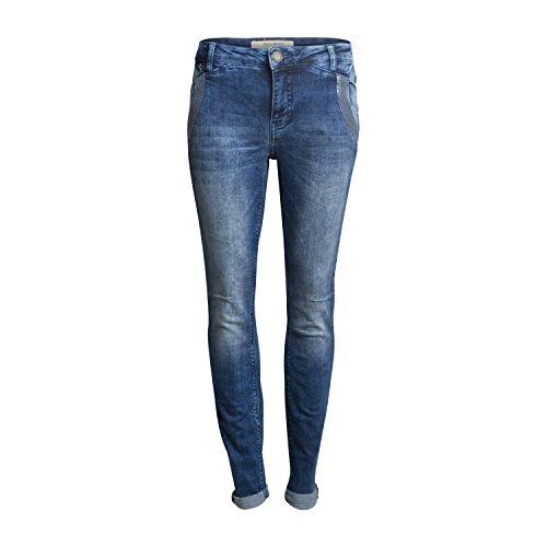 "Damen Boyfriend-Jeans ""Etta Glam Blue"" Light Blue Denim"