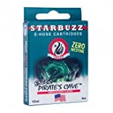 Starbuzz e-mail Hookah Shisha Tubo Sabor cartuccia non tabacco, Cueva del pirata) immagine