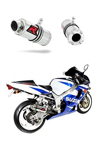 Dominator Exhaust silenciador de escape GP I Suzuki GSXR K1-K5 600 750 + DB Killer