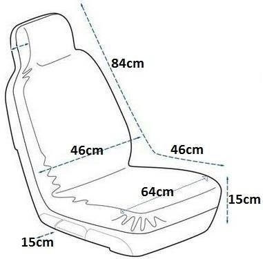 Coprisedile-auto-anteriore-posteriore-Protector-per-Honda-Shuttle