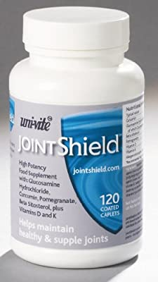JointShield 60 caplets joint supplement with Glucosamine and Curcumin