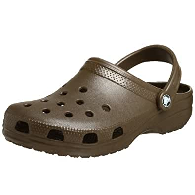 Crocs Classic, Zoccoli e Sabot Unisex Adulto, Marrone(Chocolate), 47/48