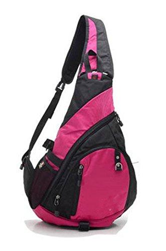 Bulage Pack Borse Petto Sport Gite Esterno Spalla Uomini E Donne Messaggero Zaino Jack Per Cuffie Traspirante Studenti Pink