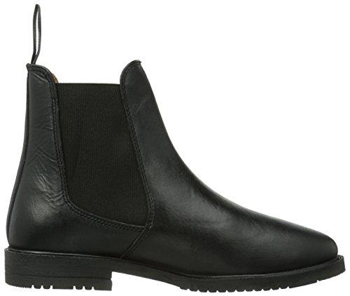Kerbl  Reitstiefelette Leder Classic Schwarz, Gr. 41, Chaussures d'Equitation adulte mixte Noir - Schwarz (schwarz; 19-0303)
