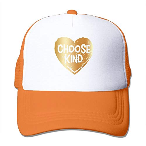 Choose Kind Gold Plated Fashion Baseball Cap for Men and Women Adjustable Mesh Trucker Hat - Kit-gold Plated
