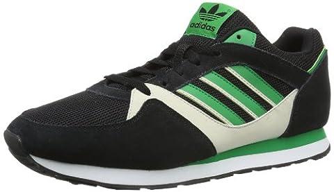 adidas Originals Zx 100-1 D67731, Herren Sneaker, Schwarz (CARBON S14/FAIRWAY/BLISS