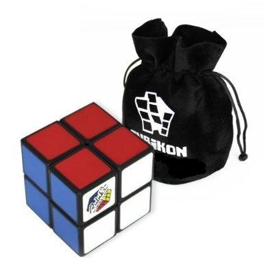 Original Rubik's 2x2 Cube - hochwertig gefertigter 2x2 Zauberwürfel - inkl. Cubikon-Tasche