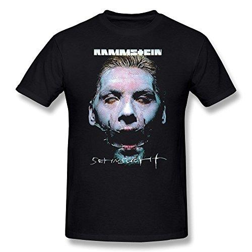 Laugh Dusk Men's Rammstein Till Lindemann T-shirt