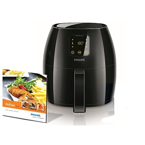41F6uftmZiL. SS500  - Philips HD9240/90 Avance Collection Air Fryer, Healthy Cooking, Baking and Grilling, Extra-Large, Plastic, 2100 W, 3 liters, Black
