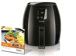 Philips Airfryer XL HD9240/90 Heißluftfritteuse (das Original, knusprige Pommes mit bis zu 80% weniger Fett)