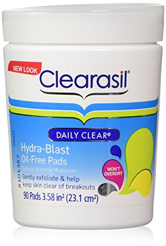 clearasil-daily-clear-hydra-blast-pads-90-ct-jar-oil-free-2-pack-by-clearasil